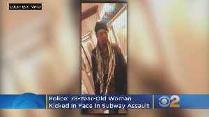Police: 78-Year-Old Woman Kicked In Face In Vicious Subway Assault [Video]