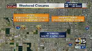 Weekend traffic closures March 23-25 [Video]