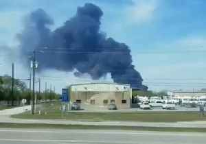 News video: New Fire Breaks Out at Deer Park Chemical Plant