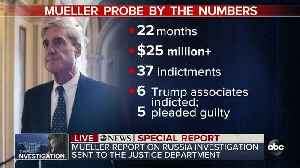 ABC News Special Report: Special Counsel Mueller has submitted his report to the Justice Department [Video]