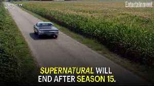 Supernatural to End With Season 15 [Video]