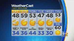 New York Weather: CBS2 3/22 Evening Forecast at 5PM [Video]