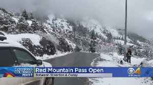 CDOT Opens Red Mountain Pass After 'Difficult, Challenging' Avalanche Cleanup Work [Video]