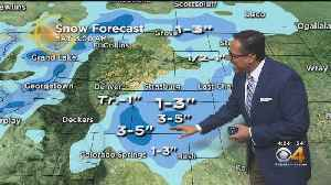 Showers, T-Storms, Even Snow Possible Tonight [Video]