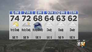 Nice Spring Friday Night, Then Rain Comes [Video]
