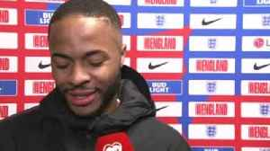 Sterling delighted with hat-trick [Video]