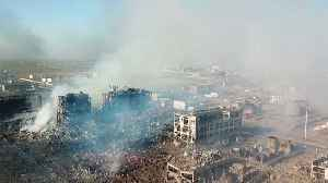 Tianjiayi Chemical Company Factory Explosion Kills At Least 62 People [Video]