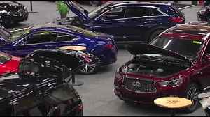 VIDEO Colorful cars line the floor at Lehigh Valley Auto Show [Video]