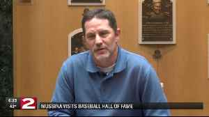 Mussina visits Baseball Hall of Fame [Video]