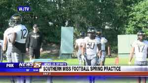 Southern Miss Football: Spring Practice Day 2 [Video]