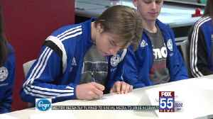 Ten Soccer Players Sign at Empowered Sports Club [Video]