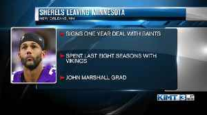 Rochester native and longtime Viking Marcus Sherels signs with Saints [Video]