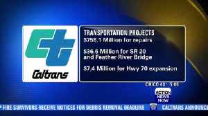 Caltrans announces dozens of state transportation projects [Video]