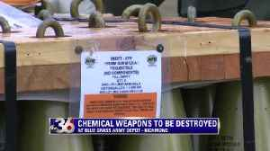chemical weapons to be destroyed [Video]