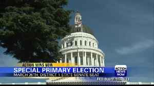 Special primary elections for district one [Video]
