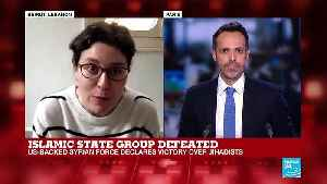 Islamic State group defeated report by Leila Molana-Allan [Video]