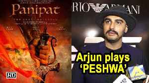 REVEALED | Arjun Kapoor playing 'PESHWA' in Panipat [Video]