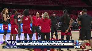 Terps, Towson set for NCAA Tournament [Video]