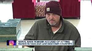 Police seeking man who robbed three banks in two weeks [Video]
