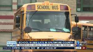 Parents call on district to address late school buses in Baltimore County [Video]