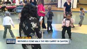 Canton Parks and Recreation holds mother-son red carpet event [Video]