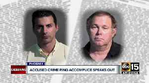 Accomplice in alleged Phoenix crime ring speaks out [Video]