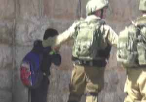 Hebron Schoolboy Held by Israeli Forces for Alleged Stone-Throwing, Activists Say [Video]