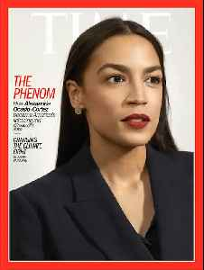 Political Phenomenon Rep. Alexandria-Ocasio Cortez Makes The Cover of Time Magazine [Video]