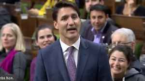 Prime Minister Justin Trudeau Forced to Apologize for Eating in Parliament [Video]