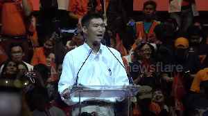 Thai election hopeful gives last rousing rally before voting starts on Sunday [Video]
