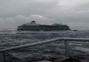 Fishing Vessels Rush to Aid Troubled Cruise Ship Off Norway [Video]