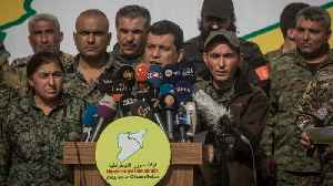 Syrian Democratic Forces Say They Have Defeated ISIS In Syria [Video]