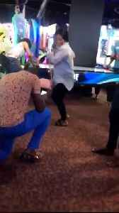 Man Proposes to Dancing High School Sweetheart in Arcade [Video]