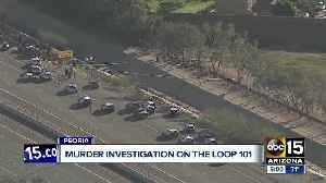 Police investigate stabbing death and crash at L-101/Thunderbird in Peoria [Video]