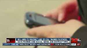 New bill aims to crack down on cell phone use at schools [Video]