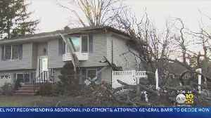 Trees Falls Onto Paramus House [Video]