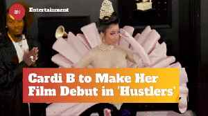 News video: Cardi B To Make Film Debut