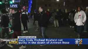 Antwon Rose Protesters Take To Street Following Michael Rosfeld Not Guilty Verdict [Video]