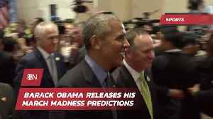 News video: Barack Obama Gives Us His March Madness Predictions