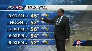 Rain showers off and on Saturday [Video]