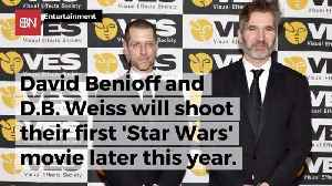 These 2 Game Of Thrones Guys Will Work On A New Star Wars Movie [Video]