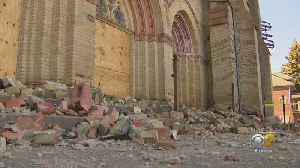 Bricks Falling From Deteriorating St. James Temple As It Waits For Landmark Status Has Residents Concerned [Video]
