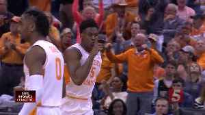 Vols Pass First Test, Beat Colgate 77-70 [Video]