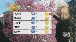 Philadelphia Weather: Whipping Winds Continue [Video]