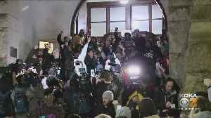 Demonstrators Gathered Outside Allegheny Co. Courthouse React To Michael Rosfeld Verdict [Video]