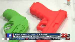 New ways to obtain CCW permit [Video]