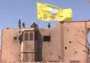 News video: SDF Flag Raised Over Building as US-Backed Group Reports Victory Over Islamic State in Baghuz