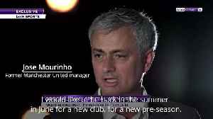 Jose Mourinho ready for managerial return in summer [Video]