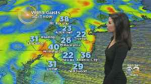 6 AM Saturday Forecast: Whipping Winds Continue [Video]