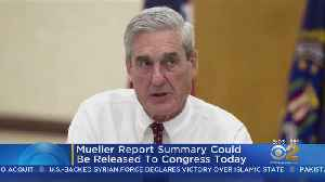 Summary Of Findings Of Mueller Report Expected [Video]